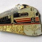 Southern Pacific Coast Starlight Locomotive Pin Badge 1 Inch