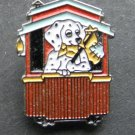 Railroad Dog Caboose Train Railway Lapel Hat Pin Badge 1 Inch