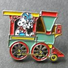 Railroad Dog Model Train Railway Lapel Hat Pin Badge 1 Inch