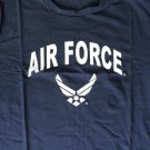Air Force USAF Cotton Spandex Graphic T-Shirt Large Or X-Large Military