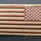 USA Arm Shoulder Desert Patch Set Left Right 3.25 X 2 Inches
