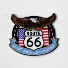 Route 66 Great American Highway Embroidered Patch 3 Inches
