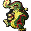 High Quality Dragon Patch Large Embroidered 12 Inch Patch