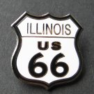 Route 66 Illinois United States Lapel Pin Badge 1 Inch
