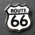Route 66 Shield USA Lapel Pin Badge 7/8 Inch