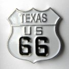 Route 66 Texas United States America Lapel Pin Badge 1 Inch