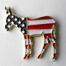 Democrat Party Donkey Emblem *New* United States Logo Pin Badge 1 Inch