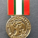 Multinational Force And Observers Peace Dove Mini Medal Lapel Pin 1.1 Inches
