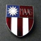 Maag China Indochina Burma Vietnam Vet Veteran USA Lapel Hat Pin Badge 1 Inch