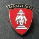 Maag Laos Vietnam Vet Veteran USA Lapel Hat Pin Badge 1 Inch