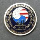 Korea Korean War Veteran 1950 1953 60Th Anniversary Lapel Pin Badge 1.1 Inches