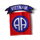82Nd Airborne Vietnam Vet Embroidered Patch 3 Inches