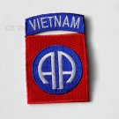 Vietnam Veteran 82Nd Airborne Division Embroidered Patch 3 Inches