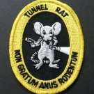 Tunnel Rat Vietnam Veteran Vet Embroidered Patch 3.1 Inches