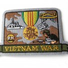 Vietnam War Veteran USA Military Embroidered Patch 2.75 Inches