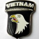 101St Airborne Division Vietnam US Army Military Pin Badge 1 Inch