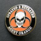 Vietnam Veteran Agent Orange Vet Lapel Hat Pin Badge 1 Inch