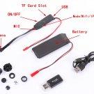 Wireless WiFi Hidden SPY Camera Module Video DVR DV Recorder DIY F Android Apple