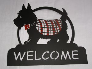 Scotty welcome sign