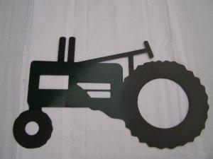 Tractor Metal Art