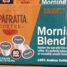 Ripafratta Morning Blend Coffee Single Serve K-cup, 80 Count NEW