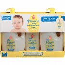 Johnson's Baby Head-to-Toe Wash, 3 pk