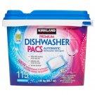 Kirkland Signature Premium Dishwasher Pacs 115-count
