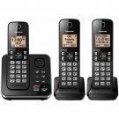 Panasonic DECT 6.0 PLUS 3-Handset Expandable Digital Cordless Phone w/ Answering