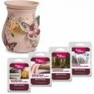 Better Homes and Gardens Wax Warmer Starter Set, Butterflies BRAND NEW