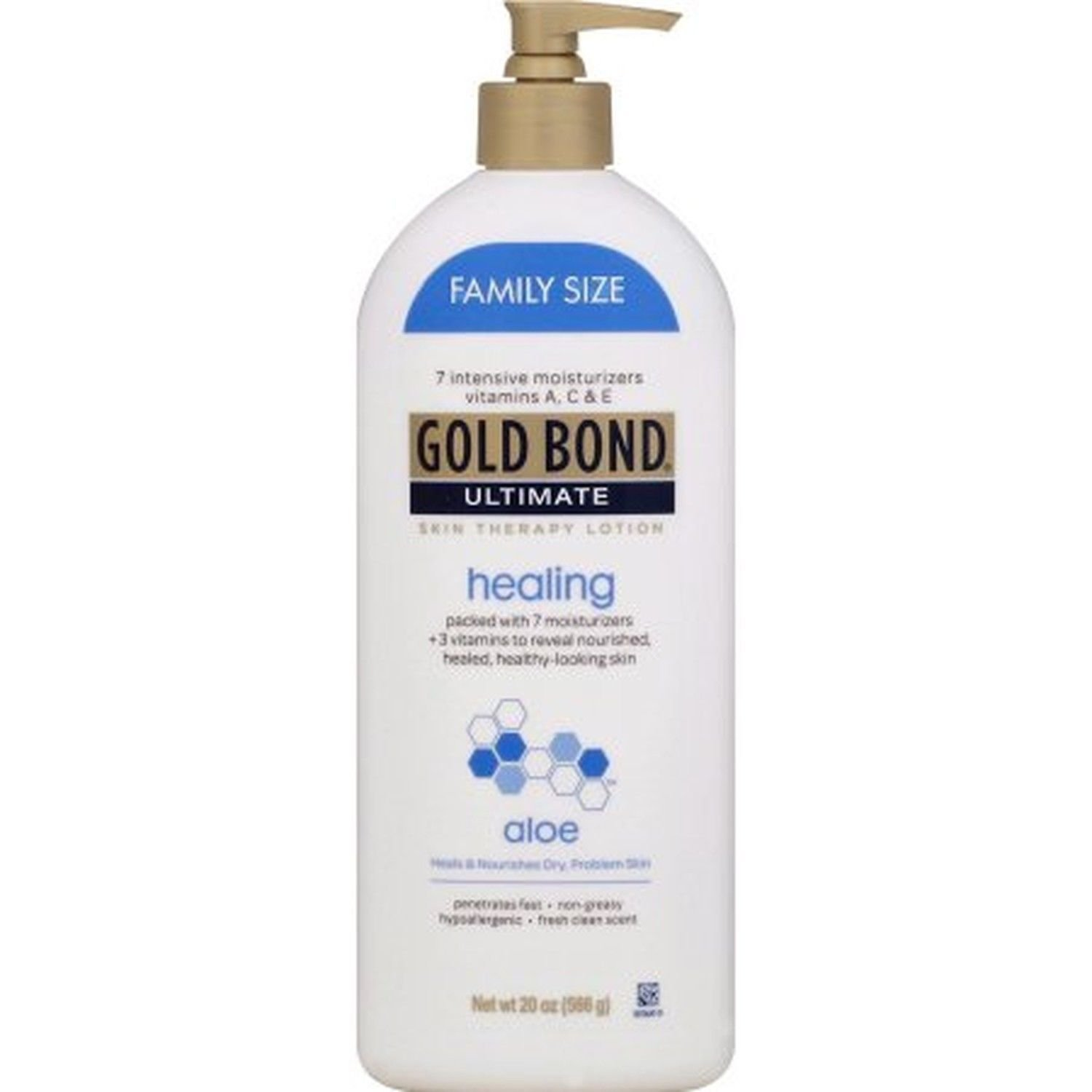 Gold Bond Ultimate Healing Skin Therapy Lotion with Aloe, 20 oz BRAND NEW