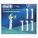 Oral-B Replacement Electric Toothbrush Heads, 5 ct