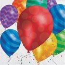 """Artstyle 13"""" Dinner Napkins, 120 ct. - Balloons"""