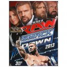 WWE: The Best of Raw and Smackdown 2013 (DVD, 2014, 3-Disc Set) BRAND NEW