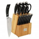 Emeril 17 Piece Knife Block Set BRAND NEW
