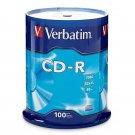 Verbatim CD-R 100 Pack Recordable Media BRAND NEW