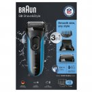 Braun Series 3 Shave & Style 3010BT 3-in-1 Electric Wet & Dry Shaver BRAND NEW
