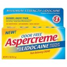 Aspercreme Lidocaine Pain Relieving Creme - 2.7 oz  BRAND NEW