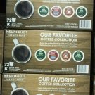 Green Mountain Variety Single Serve 72 K-Cups NEW