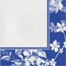 "Artstyle 13"" x 13"" 3-Ply Dinner Napkins, 120 ct. - Blue Flower"