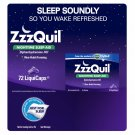 ZzzQuil Nighttime Sleep-Aid 72ct LiquiCaps NEW