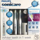 Philips Sonicare FlexCare Whitening Edition Rechargeable Toothbrush 2-Pack NEW