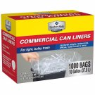 Member's Mark Commercial bulky Trash Bags 7-10 Gallon-1000 ct BRAND NEW
