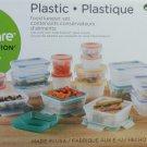 Snapware Total Solution 38-piece Plastic Food Storage Set