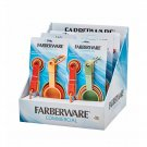 9 Piece Farberware Commercial Soft Cup Spoon Set - Assorted Colors