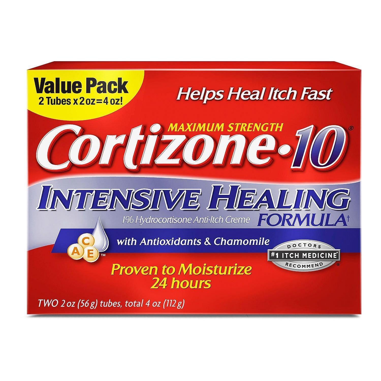 Cortizone 10 Intensive Healing Twin Pack 2 oz Each