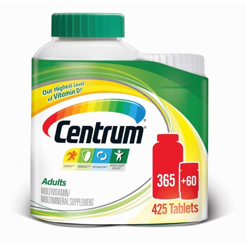 Centrum Adult Multivitamin, 365+60 ct NEW