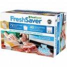 FoodSaver FreshSaver Zipper Bag Combo Pack NEW