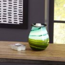 Better Homes and Gardens Marina Art Glass Wax Warmer BRAND NEW