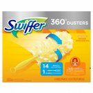 Swiffer Duster 360, Includes handle & 14 ct duster refills FREE SHIPPING!