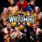 WWE WRESTLEMANIA XXX 30TH ANNIVERSARY 3 DISCS BRAND NEW